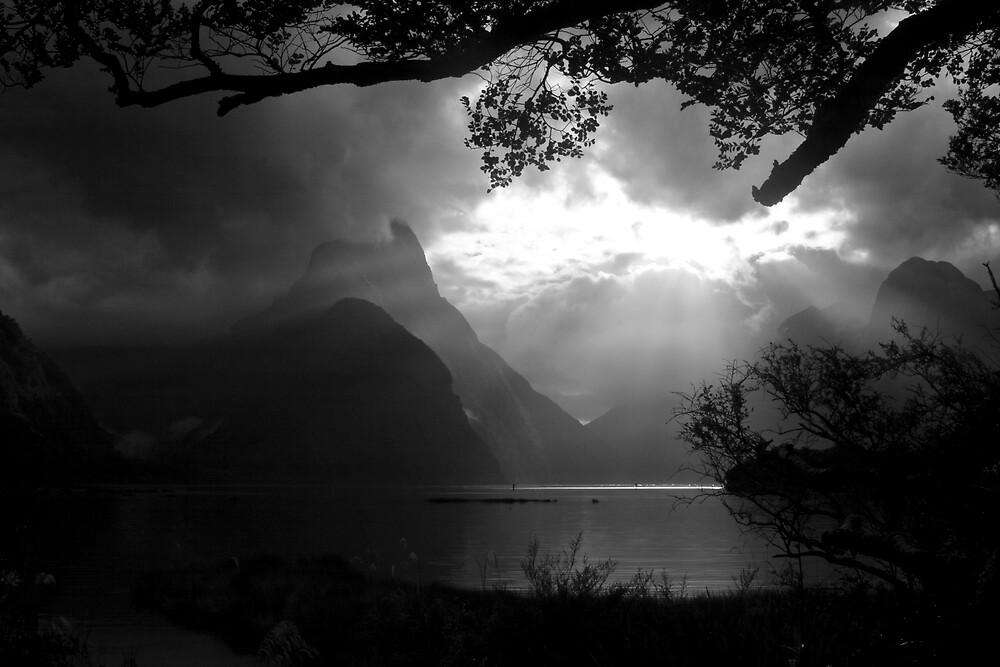 Mitre Peak by Mike Calder