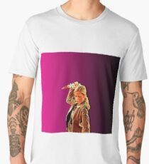 'Buffy in Pink' by JACKASH Men's Premium T-Shirt