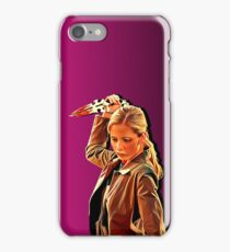 'Buffy in Pink' by JACKASH iPhone Case/Skin