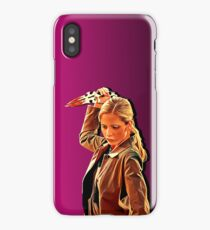 'Buffy in Pink' by JACKASH iPhone Case