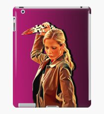 'Buffy in Pink' by JACKASH iPad Case/Skin