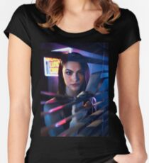 Veronica Lodge Riverdale Women's Fitted Scoop T-Shirt