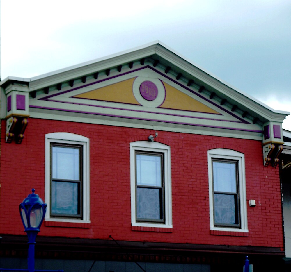 Another colorful building by Judi Taylor