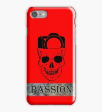 PASSION & PROFESSIONAL PHOTOGRAPHER iPhone Case/Skin