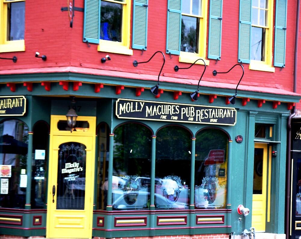 Molly Macguires Pub by Judi Taylor