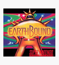 Earthbound Restored Poster Retro-Gaming Art, From Game Cover Art Photographic Print