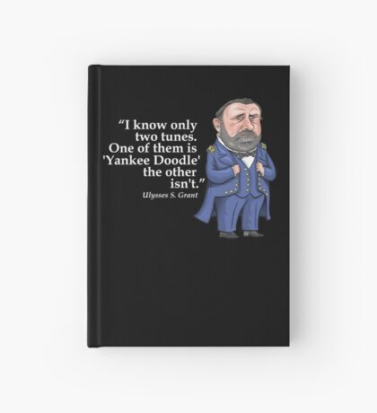 "Ulysses S. Grant, ""Yankee Doodle"" Hardcover Journal"