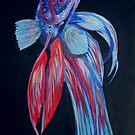 Male Siamese Fighting Fish Betta Splendens by taiche