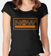 Everything Now Co Women's Fitted Scoop T-Shirt
