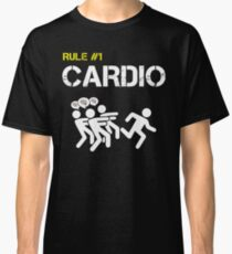 Zombie Survival Rule #1 Cardio Classic T-Shirt