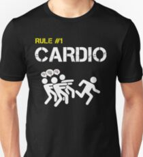 Zombie Survival Rule #1 Cardio T-Shirt