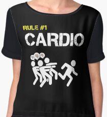 Zombie Survival Rule #1 Cardio Chiffon Top