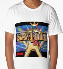 Earthbound Restored Poster Retro-Gaming Art, From Game Cover Art Long T-Shirt
