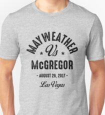Mayweather McGregor Fight T-Shirt