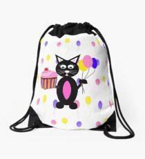 Party Animal Drawstring Bag