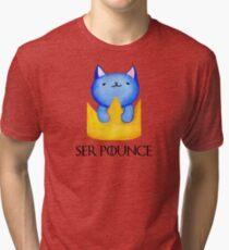 Camiseta de tejido mixto Ser Pounce-a-lot