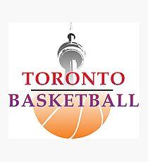 Toronto Basketball Photographic Print