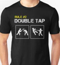 Zombie Survival Rule #2 Double Tap Unisex T-Shirt