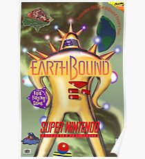 Earthbound Restored Rare Poster  Poster
