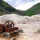 Glendalough mining village, Co. Wicklow, Ireland by David Carton