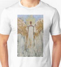 Guardian Angel Decor Design Blue White Angels of Light Christmas Gift T-Shirt