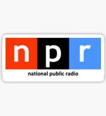 NPR sticker Sticker