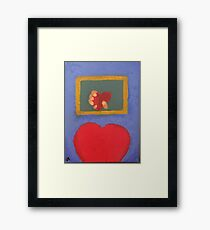 Time Refracts Framed Print