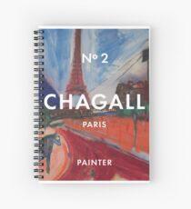 Marc Chagall No.2  Spiral Notebook