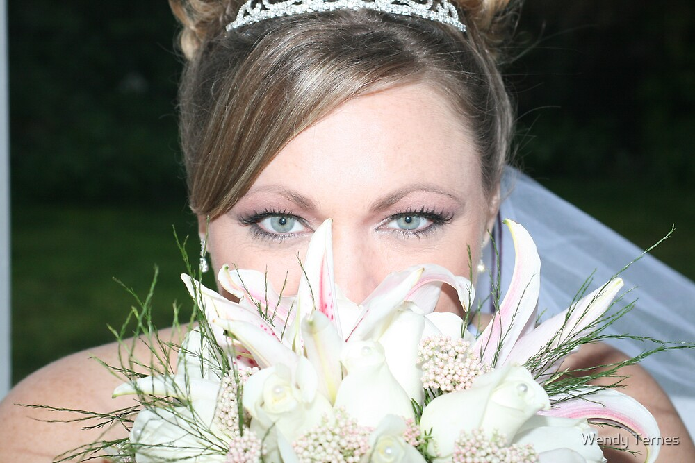 Bride's Eyes by Wendy Ternes