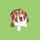 Copper Beagle by VieiraGirl