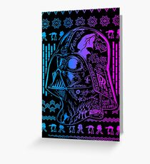 Robot Retro Style Greeting Card
