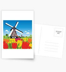 Dutch landscape  Postcards