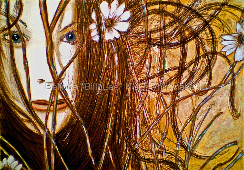 """Wild Girl by Belinda """"BillyLee"""" NYE (Printmaker)"""