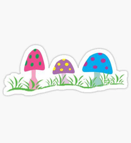 toadstool fantasy Sticker