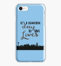 SAVE LIVES iPhone Case/Skin