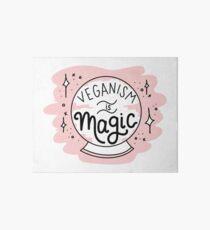 VEGANISM IS MAGIC Art Board