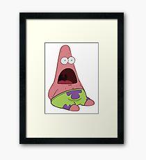 Surprised Patrick Framed Print