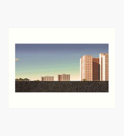 Housing Commission: Collingwood Art Print