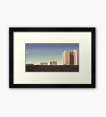 Housing Commission: Collingwood Framed Print