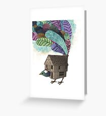 the birdhouse revisited  Greeting Card