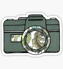 Liam -Abstract Camera Sticker