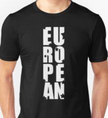 EUROPEAN Unisex T-Shirt