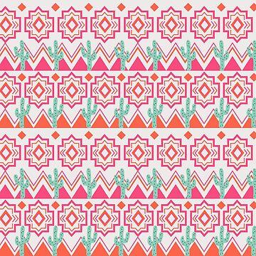 Cactus Aztec by doodlebymeg