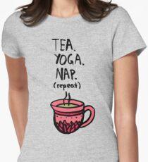 Tea. Yoga. Nap. (repeat) T-Shirt