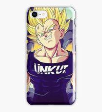 Coque Dragon Ball Z - Vegeta (Ünkut) iPhone Case/Skin