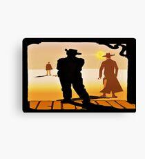 Cowboy`s Canvas Print