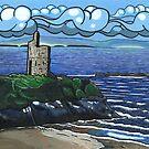 Ballybunion Castle,Ballybunion,Co. Kerry,Ireland by Ronan Crowley