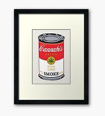Campbell's Soup (Cannabis Sativa) - That 70's Show Framed Print