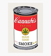 Campbell's Soup (Cannabis Sativa) - That 70's Show Photographic Print