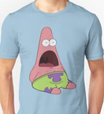 Surprised Patrick Unisex T-Shirt
